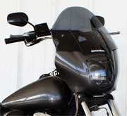 Roadawgz Windscreen for Harley Davidson Quarter Fairing